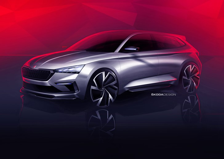 2018 Skoda RS Vision Concept - Preview