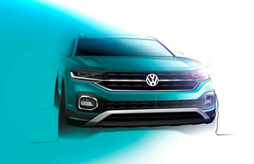 Volkswagen Teases T-Cross Ahead Of Paris Reveal