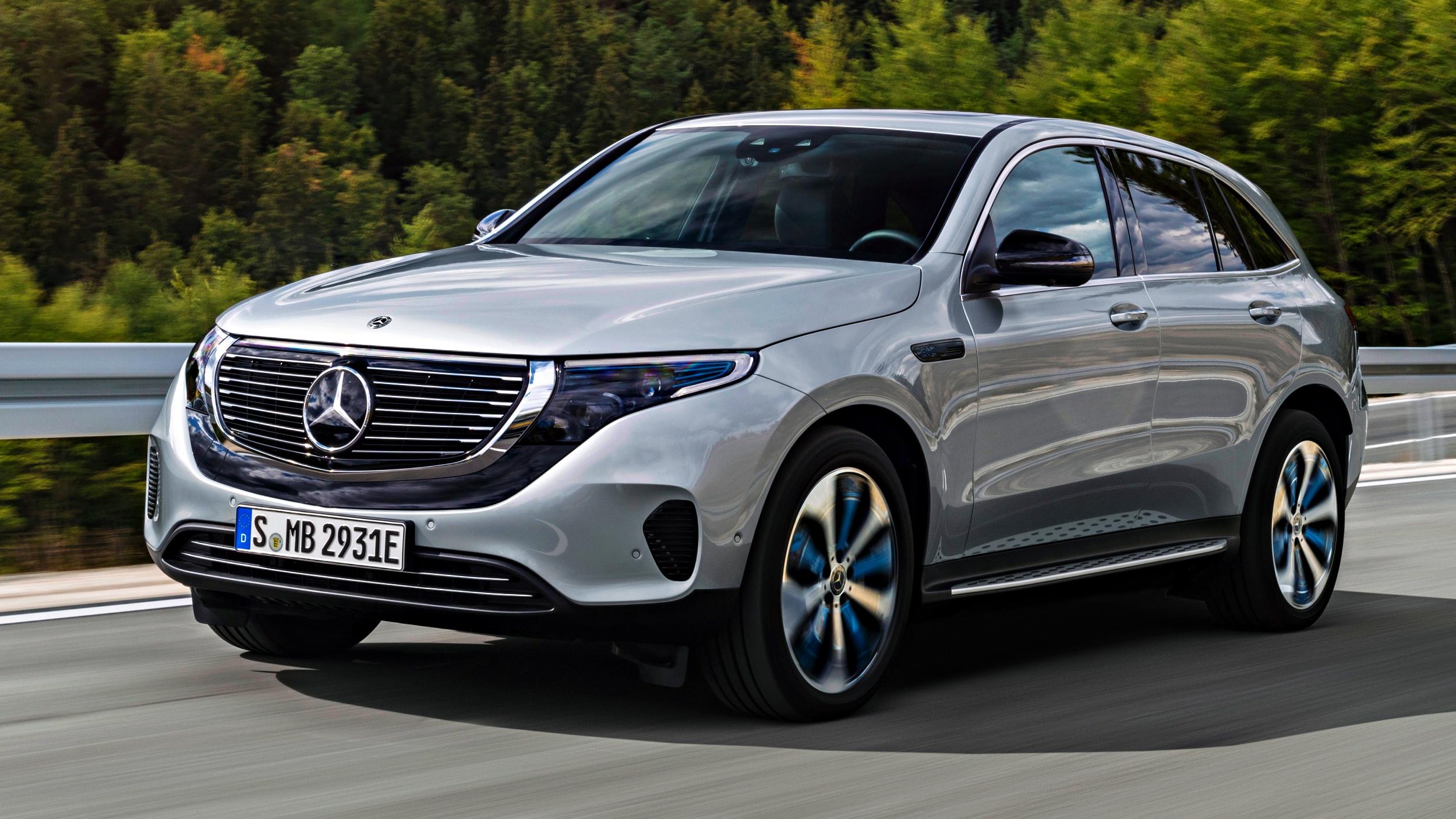 2019 Mercedes-Benz EQC Arrives