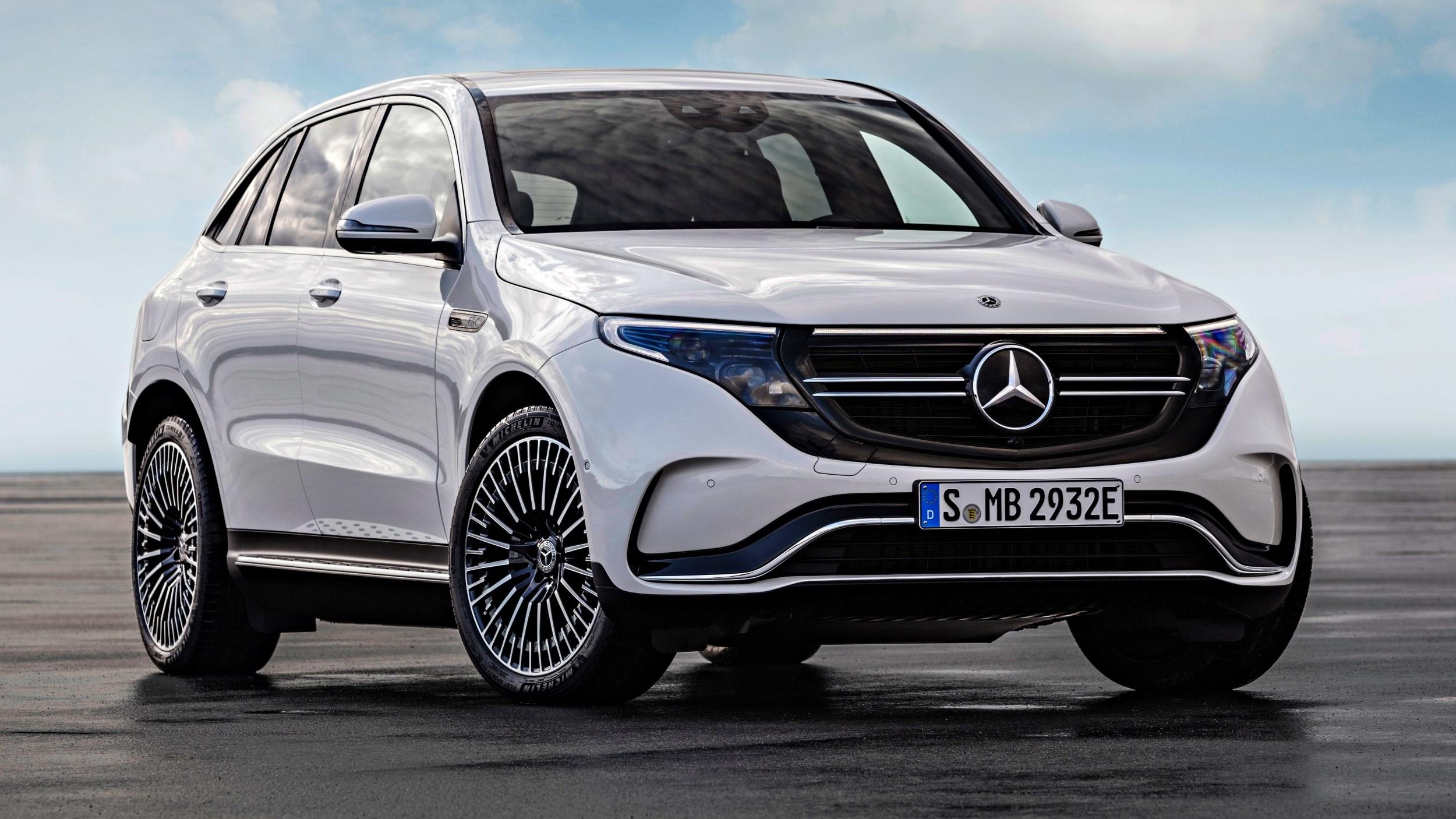 2019 Mercedes-Benz EQC Arrives – 300kW, 450km Range Thumbnail