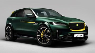 Lister's 500kW F-Pace-based LFP May Be Fastest SUV Ever