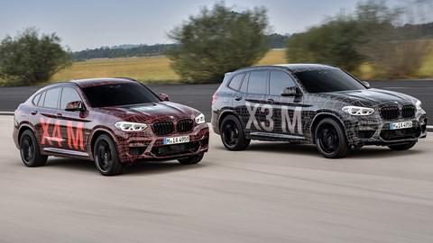 BMW Previews Hot X3 M, X4 M Ahead Of Paris Premiere