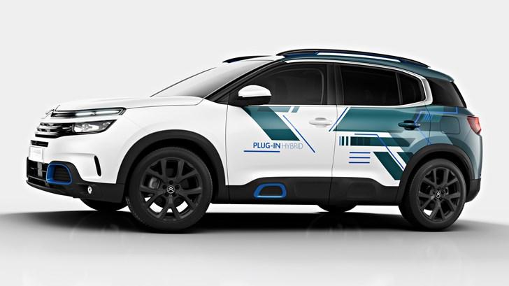 2018 Citroen C5 Aircross Hybrid Concept – Paris Motor Show