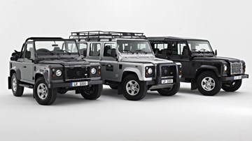 2020 Land Rover Defender To Return As A Family –Gallery