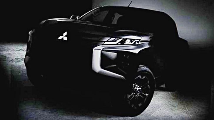 Mitsubishi Teases New Triton – Gallery