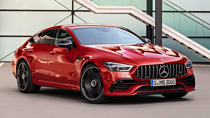 2019 Mercedes-AMG GT 43 4Matic+ 4-Door Coupe