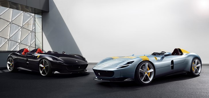 Ferrari Reveals Stunning SP1, SP2 Monza - First In Icona Series