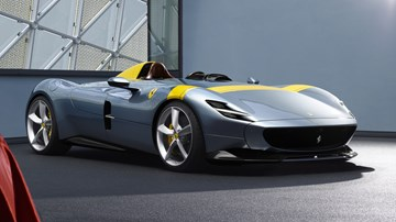 Ferrari Reveals Stunning SP1, SP2 Monza - First In Icona Series
