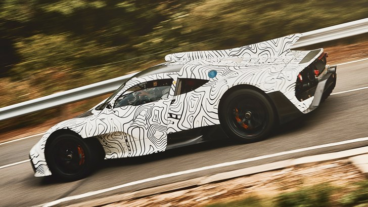 Mercedes-AMG Teases Project One Prototype In Testing
