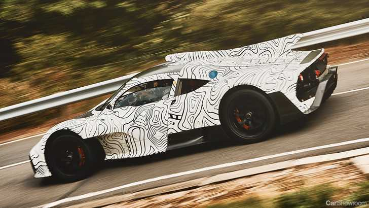 News Mercedes Amg Teases Project One Prototype In Testing