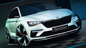 2018 Skoda Vision RS – Teasers