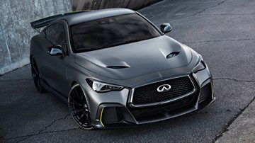 Infiniti Q60 Project Black S Brings F1 KERS To The Road – Gallery