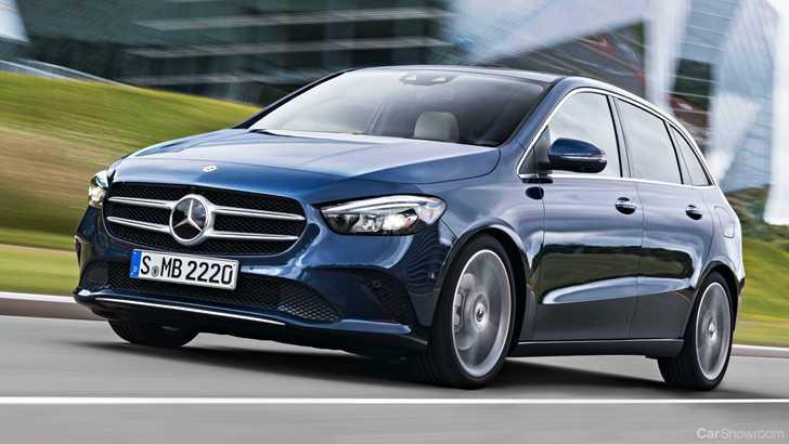 News 2019 Mercedes Benz B Class Bows In At Paris Motorshow