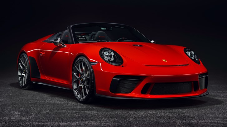 Achingly Pretty Porsche 911 Speedster Gets Production Nod