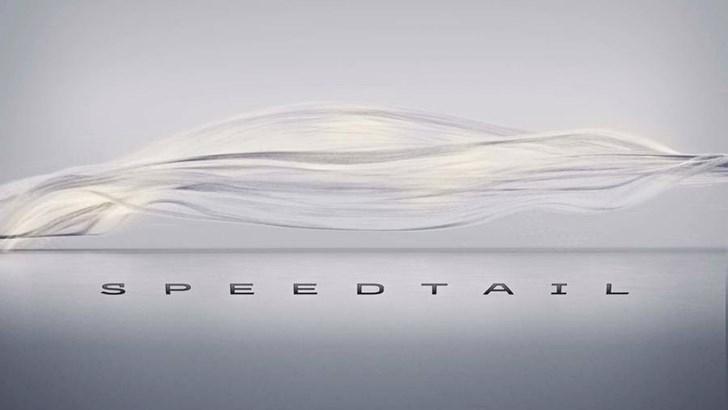 McLaren Drops Details On Speedtail –Gallery
