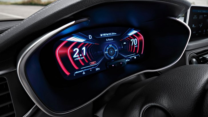 Genesis Debuts World's First 3D Instrument Cluster –Gallery