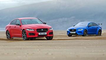 Jaguar Project 8, XE 300 Sport Go On A Beach Assault – Gallery