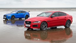 Jaguar Project 8, XE 300 Sport Go On A Beach Assault