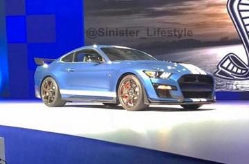 Mustang Shelby GT500 Leaks Ahead Of Detroit Debut