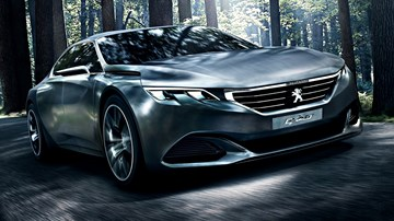 Peugeot's Working On Electrified Sports Cars, Plural – Gallery