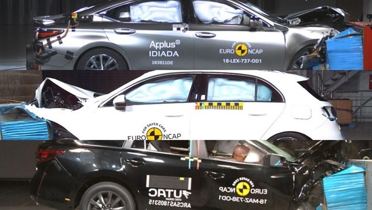 Lexus ES, Mercedes A-Class, Mazda6 Score 5-Stars From ANCAP