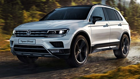 2018 Volkswagen Tiguan Offroad – Moscow Auto Show