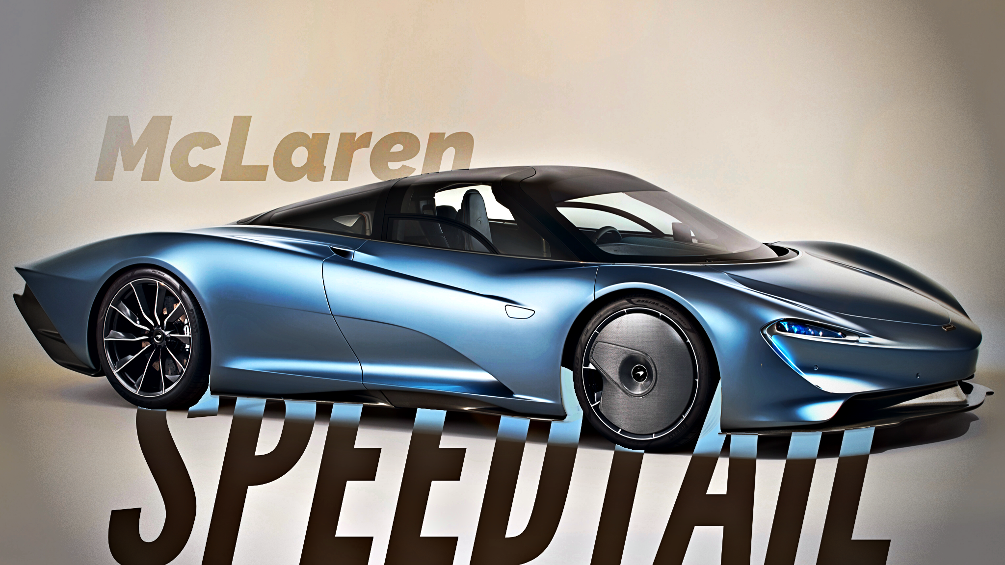 McLaren Unveils The Speedtail - 403km/h, 772kW Hyper-GT