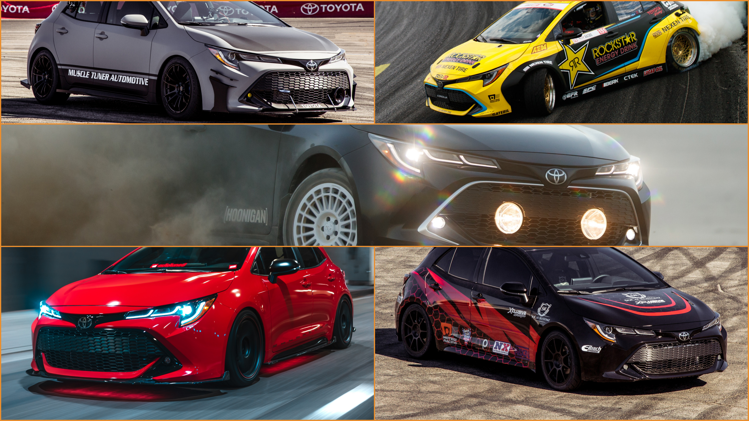 News Toyota Corolla Gets 5 Modified Variants At Sema