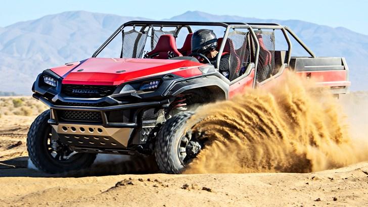2018 Honda Rugged Open Air Vehicle Concept – SEMA 2018