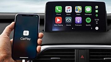 Mazda Announces Apple CarPlay, Android Auto Retrofit –Gallery