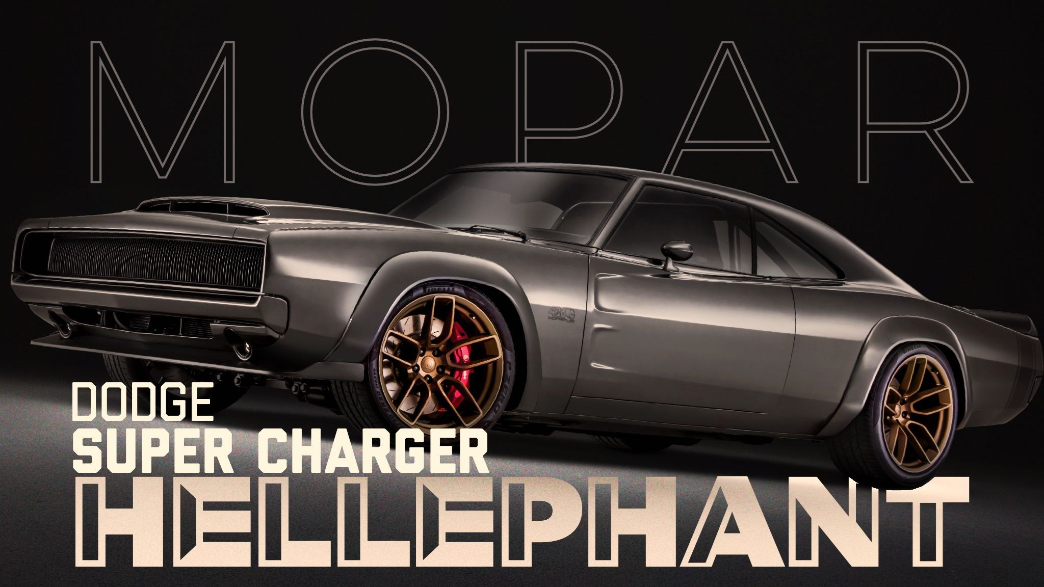 Mopar Outs Super Charger With 1,000hp Hellephant V8