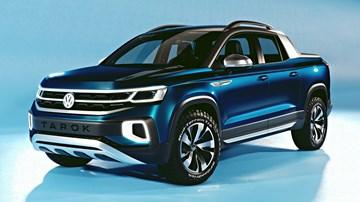2018 Volkswagen Tarok Concept –Sao Paolo Motorshow
