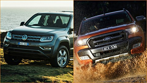 Next VW Amarok Could Be Ford Ranger In Disguise –Gallery