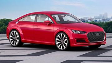 2014 Audi TT Sportback Concept –Paris Motor Show