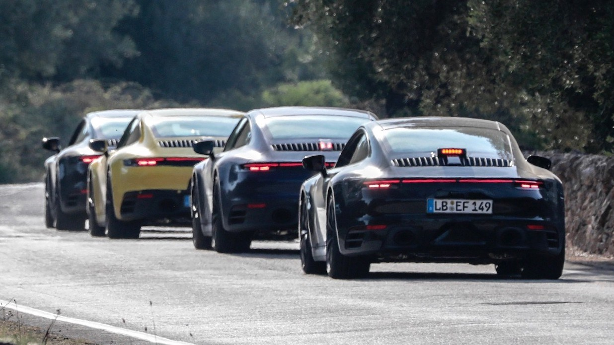 All-New Porsche 911 Stress Tested Ahead Of Debut Thumbnail