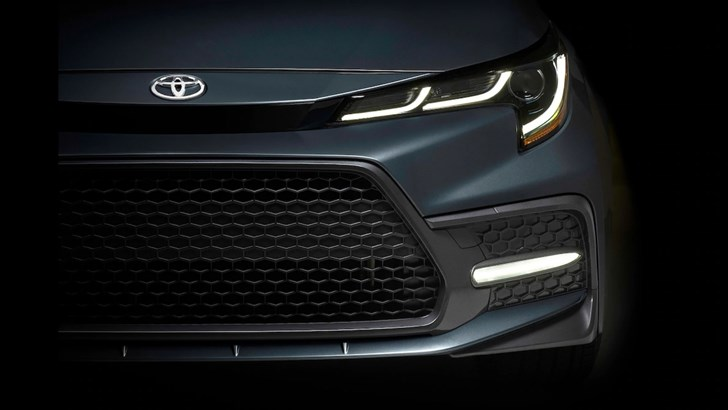 2019 Toyota Corolla Saloon Teased Ahead Of Debut – Gallery