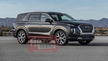 Hyundai's Palisade SUV Gets Outed Before LA – Gallery