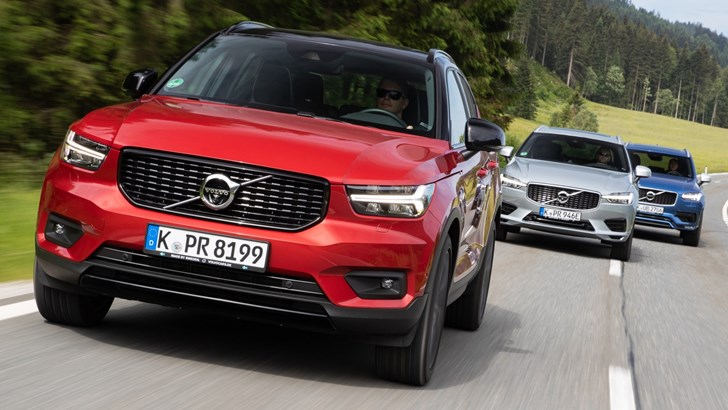 Volvo Caught In The Middle Of US-China Trade War – Gallery