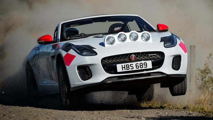 2018 Jaguar F-Type 'Rally Special' – One of Two