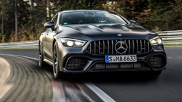 Mercedes-AMG Takes 'Ring Title With GT 4-Door – Video