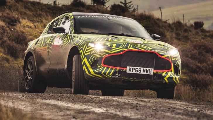 2018 Aston Martin DBX – Prototype