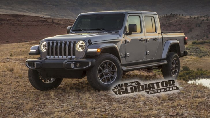 '20 Jeep Gladiator Gets Early Outing On Media Site – Gallery