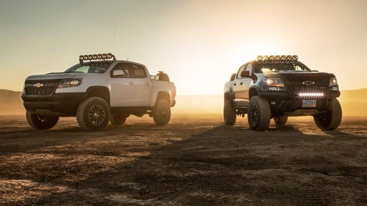 Chevrolet Colorado ZR2 Offers Upgrades To Match Ranger Raptor – Gallery