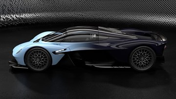 Aston Martin's Near-Finished Valkyrie Hypercar Previewed