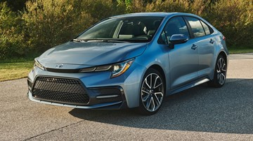 2020 Toyota Corolla Saloon – International Release