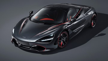 2018 McLaren 720S – Stealth Theme by MSO