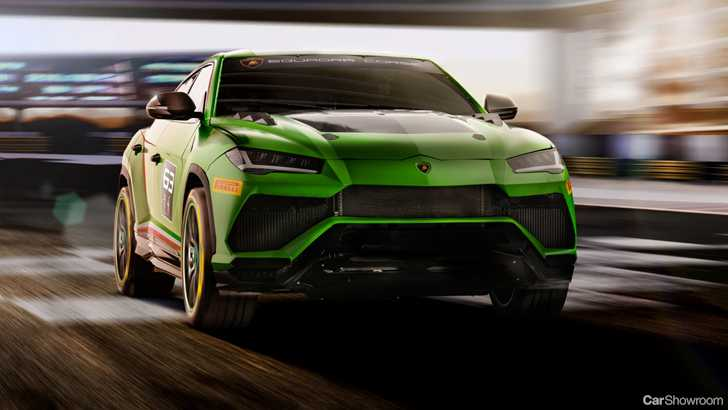 News Lamborghini Urus St X Concept Previews Upcoming Racer