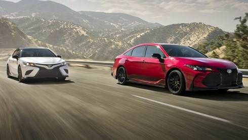 Track-Tuned TRD Treatment Given To Camry, Avalon