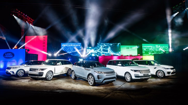 News All New Range Rover Evoque Premieres In The Uk