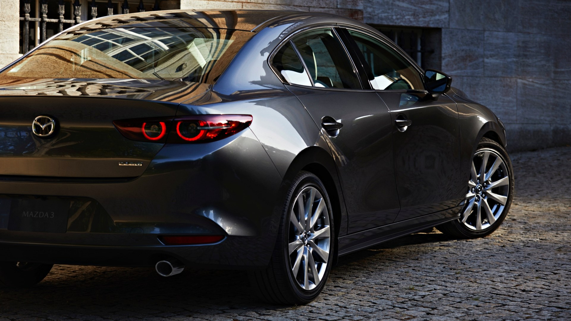 All-New Mazda 3 Breaks Cover: SkyActiv-X, MHEV, Here Q2-2019 Thumbnail
